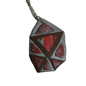 geometric necklace 1