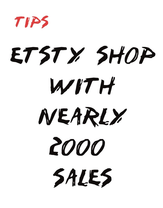 selling on etsy - how to succeed