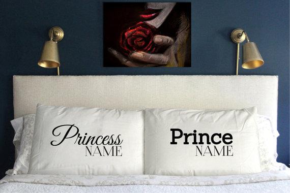 princess prince pillows