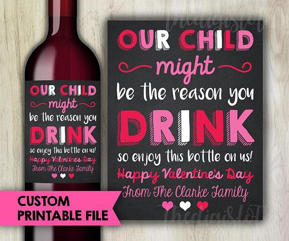 wine sticker